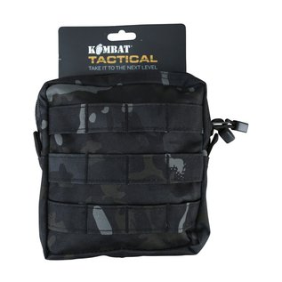 Kombat Medium MOLLE Utility Pouch - BTP Black