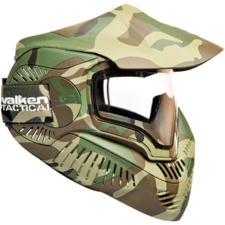 valken Valken Paintball MI-7 Goggle/Mask with Dual Pane Thermal Lens