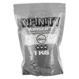 valken BBs - Infinity 0.28g-1 KG-White, 3500 count