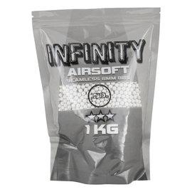 valken BBs - Infinity 0.30g-1 KG-White, 3300 count