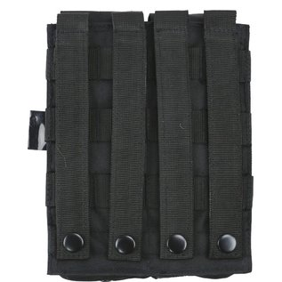 Kombat Double Mag Pouch with PISTOL Mag - Black