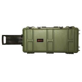 Nuprol Medium Hard Case - Wave - Green