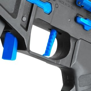 Airsoft wholesales King Arms PDW 9mm SBR M-LOK - Black & Blue