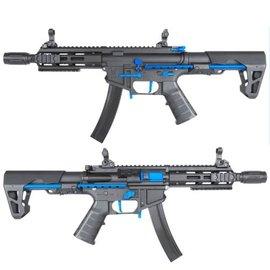KING ARMS King Arms PDW 9mm SBR M-LOK - Black & Blue