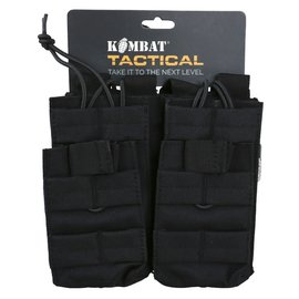 Kombat Double Duo Mag Pouch - Black
