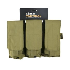 Kombat Triple ORIGINAL Style Mag Pouch - Coyote