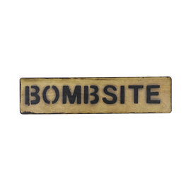 Kombat Bombsite Sign