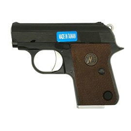 WE WE CT25 1908 Gas Blowback Pistol (Black)
