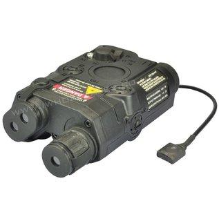 Battleaxe PEQ-15 Battery Box with Green Laser (Black)