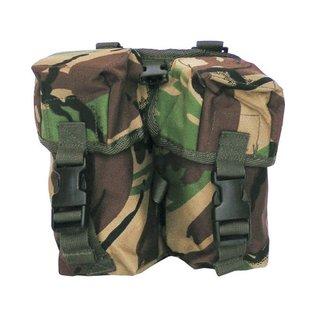 Kombat PLCE Double Ammo Pouch - DPM
