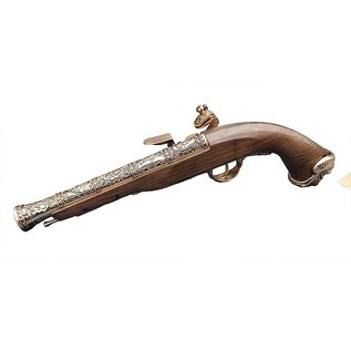 HFC HFC Pirate Flintlock Gas Pistol (18th Century - HG-502GN - Gold)