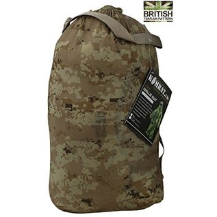 Kombat Kombat Tactical Ghillie Suit Adult Desert Woodland Camouflage Camo Netting Suit Hunting Shooting (XL/XXL)