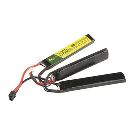 Electro River LiPo 11.1V 2000 mAh 25/50C T-connect Mini Tayima Butterfly Battery