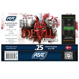 ASG ASG AIRSOFT BB, BLASTER DEVIL, 0.25 3300 PCS BOTTLE