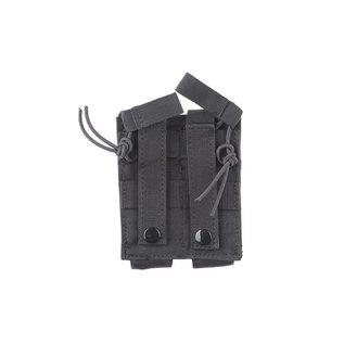 DROPZONE Double MP5 Magazine Pouch - Black