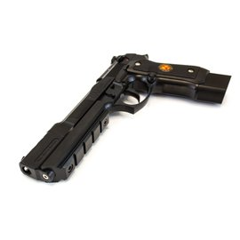 WE WE BIOHAZARD M92 BARRY BURTON FULL AUTO BLACK PISTOL