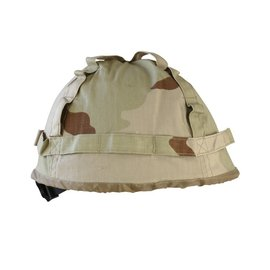 Kombat M1 Plastic Helmet with Cover - Desert/Tri-Colour
