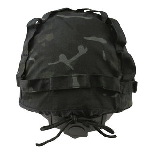 Kombat M1 Plastic Helmet with Cover - BTP Black