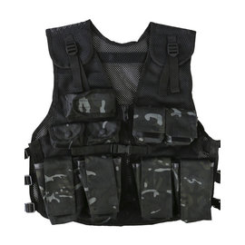 Kombat Kids Assault Vest - BTP Black