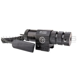 Crosman Crosman Centerpoint Green Laser Pointer with Weaver RIS and Pressure Pad