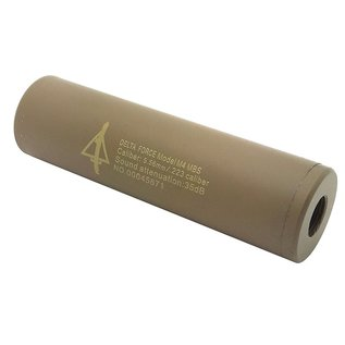 CCCP CCCP Delta Silencer (Full Metal - 110mm in Length - Plain - Tan)