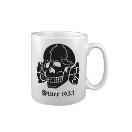 Kombat Nazi Skull Since 1933 MUG - CHIPPED HANDLE