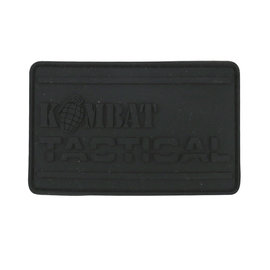 Kombat Kombat PVC Tactical Patch - Black