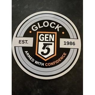 Glock Glock Gen 5 Sticker Silver