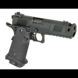 Army Armament Army Custom 5.1 Hi-Capa with Costa Compensator (Full Metal - Black - R501)