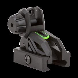 valken Rifle Accessory - Valken Folding Rear Sight-Black/Neon
