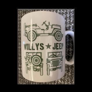 Kombat Willys Jeep Design Mug