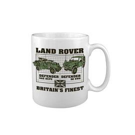 Kombat Land Rover - Defender MUG