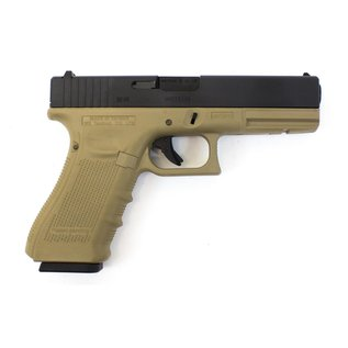 WE WE EU17 GEN 4 TAN PISTOL