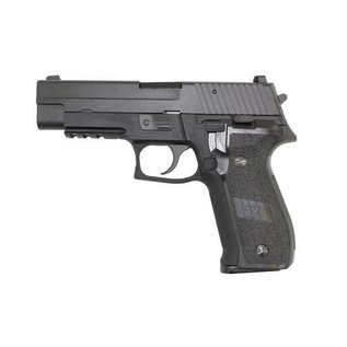WE WE F226 with Rail Black Pistol