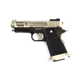 WE E Force Gen2 Hi-Capa 3.8 Silver Pistol