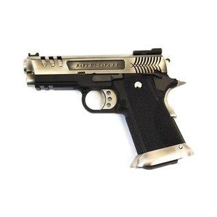 WE WE E Force Gen2 Hi-Capa 3.8 Vented Slide Silver Pistol