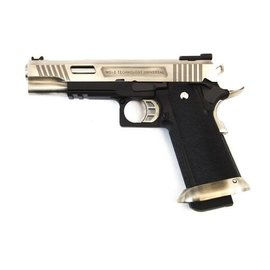 WE WE E Force Gen2 Hi-Capa 5.1 Silver Pistol