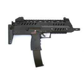 WE WE SMG-8 GBB Rifle - Black