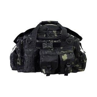 Kombat Saxon Holdall - 50ltr - MT Black