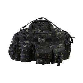 Kombat Saxon Holdall - 65ltr - MT Black