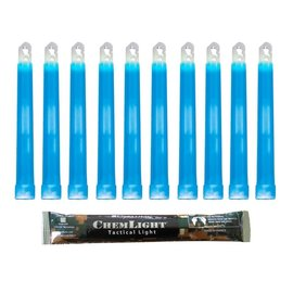 Cyalume 6'' CHEMLIGHT (15CM) BLUE MILITARY GRADE LIGHTSTICK