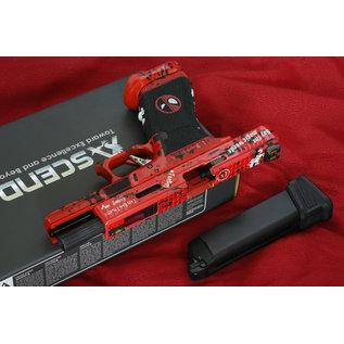WE Deadpool17 Blowback Gas Model   ( Force Trigger)