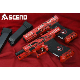 WE Deadpool17 Blowback Gas Model   ( Force Trigger)