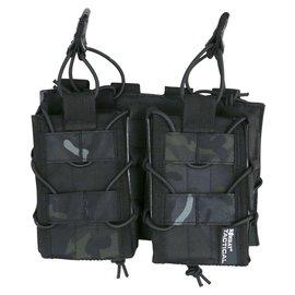 Kombat Delta Fast Mag Double - BTP Black