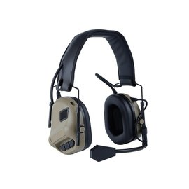 big foot Fifth Generation Sound Pickup and Noise Reduction Headset Simulator (Gen. 5 - Tan)
