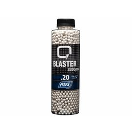 ASG Q Blaster 0,20g Airsoft BB -3300 pcs. in bottle