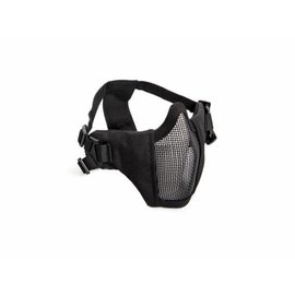 ASG ASG Metal mesh mask with cheek pad, Black