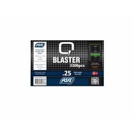 ASG Q Blaster 0,25g Airsoft BB -3300 pcs. in bottle