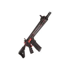 G&G G&G Combat Machine AEG CM16 SRXL (Special Red Edition) with MOSFET & ETU (EGC-16P-SXL-RNB-NCM) EX DISPLAY