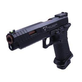 EMG Arms/SAI EMG x STI/TTI Licensed JW3 2011 Combat Master Gas Blowback Pistol (Black)